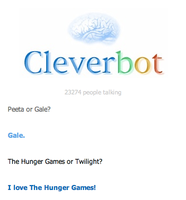 Cleverbot smalltalk by CriminalMasterbrain