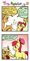 Tiny Applebat 3 by norang94