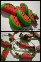 fimo watermelons by Shatya