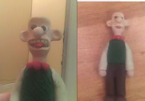 My Clay Wallace by 1conchi