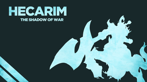 Hecarim - The Shadow of War by Welterz