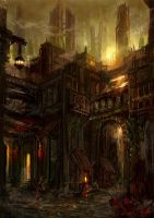 Lost District by flaviobolla