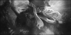 Magic - Black and White by Ulilee2