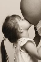 A Little kiss for my Sister by lichtschrijver