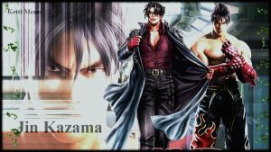 Jin Kazama wallpaper june 2 by ScionChibi
