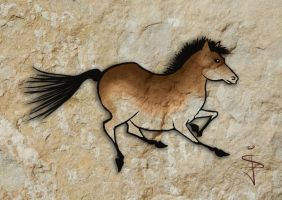 FIN-Cave-Horse-03 by NorthumbrianArtist