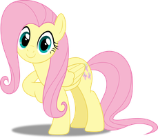 Vector #259 - Fluttershy #16 by DashieSparkle