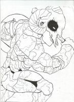 Captain Carnage (inked) by JohnnySlade