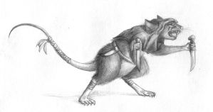 Rat for my sister by Wezyk