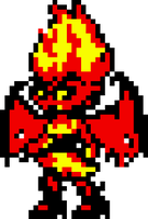 Demon Sunset Shimmer - GBC Shantae Styled - by biel56789
