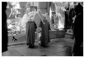Window-Shopping Angels by Ikarisou