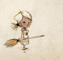 Little Witchy by JURFFY