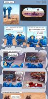 SC2 Comic - Marine Blues by GenjiLim