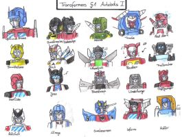 TF - G1 Autobots Part 1 by BeeLovesCade