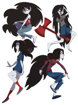 Marceline by sketchbagel