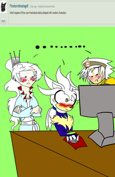 Ask the Ivory Siblings 03: Shipping by Vennyriz22