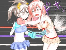 boxing! belly punch!! by kakabucity