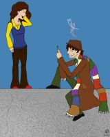 Sarah Jane and The Doctah by IBelongToTheDoctor