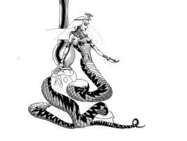 Snake Queen Bitmap by ivanraposo