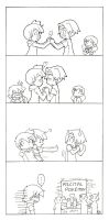 "Ash e Misty-Gelosia? ""comic"" by Ya-chan85"