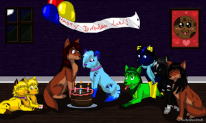 Happy Belated Birthday Leti! XD by ScottishRedWolf