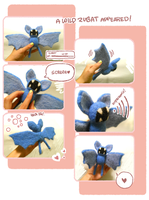 Needlefelt Zubat Plush by otherwise