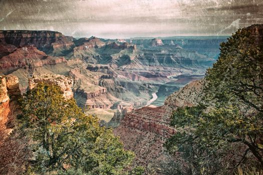 Grand Canyon Adventures - I by DimHorizonStudio