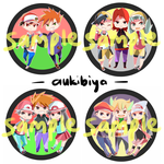 pkmn badges by AukiBiya