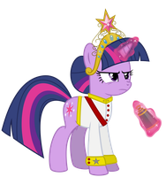 Field Marshal Sparkle, Element of Magic Vector by UlyssesGrant