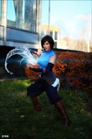 Avatar Korra by MayWolf23