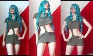 Neliel - preparing cosplay by YanBUNy