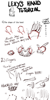 Lexy's Hand Tutorial by rekushi