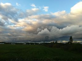 Lake Effect Clouds by dcrods