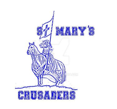 St Marys Crusaders Team logo by 0fade