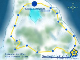 Snowpoint Race Map by xXEternal-twilightXx