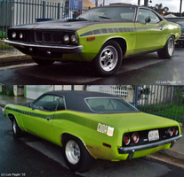 72' Plymouth Cuda by Mister-Lou