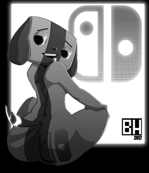 Switch dog is THICK. by I-am-BoxHead