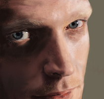 Paul Bettany portrait by HILLYMINNE