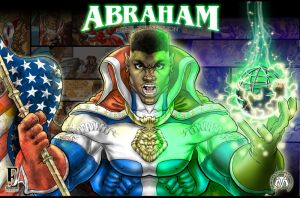 Abraham poster by BLACKSTAR-SHABACH