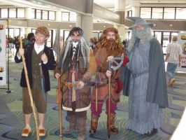 Hobbit Cosplayers by eburel506
