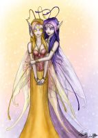 I love you my Twinly Twin by PookaWitch