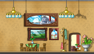 [ms] background : dining room by SaturnCheese