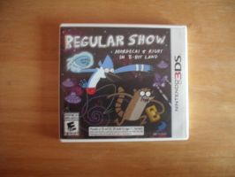 Regular Show Mordecai and Rigby in 8-Bit Land by LouisEugenioJR