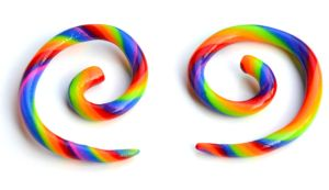 Rainbow Gauges 001 by Dabstar