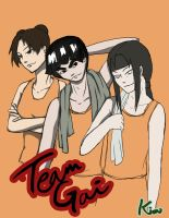Team Gai by GoldenDragonClouds