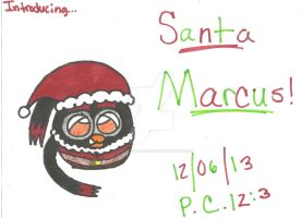 Santa Marcus is Coming to Town! by AngieTheCatGuardian