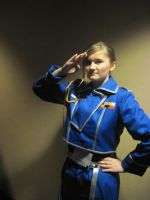Hail Riza Hawkeye by AnaxErik4ever