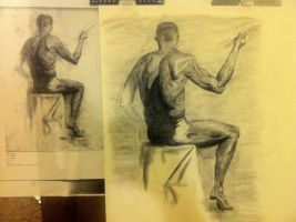 Figure drawing Final Project by HayNateHaywood