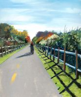 bike path by classina