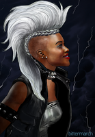 Ororo Munroe (Storm) by bittermarch